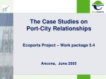 The Case Studies on Port-City Relationships