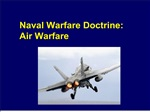 naval warfare doctrine: air warfare