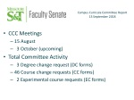 CCC Meetings 15 August 3 October (upcoming) Total Committee Activity