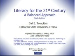Chapter 1 8 Principles of Balanced Literacy Instruction
