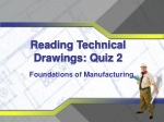 Reading Technical Drawings: Quiz 2