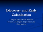Discovery and Early Colonization