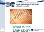 What is the LGR&DS?
