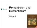 Romanticism and Existentialism
