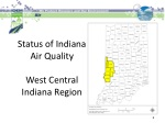 Status of Indiana Air Quality West Central Indiana Region