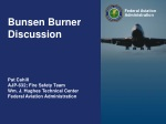 Bunsen Burner Discussion