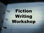 Fiction Writing Workshop