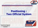 Positioning : Two Official System