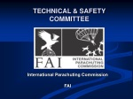 TECHNICAL & SAFETY COMMITTEE