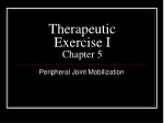 Therapeutic Exercise I Chapter 5