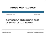 HIMSS ASIA-PAC 2008