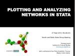 Plotting and Analyzing Networks in Stata