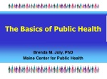 The Basics of Public Health