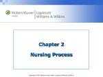 Chapter 2 Nursing Process