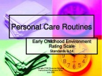 Personal Care Routines