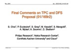 Final Comments on TPC and DFS Proposal (01/169r2)