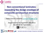 Non-conventional laminates: expanding the design envelope of composite aeronautical structures