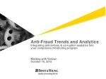 Components of an effective anti-fraud & corruption compliance program