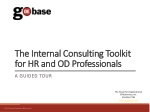 The Internal Consulting Toolkit for HR and OD  Professionals