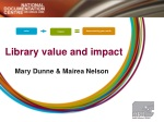 Library value and impact