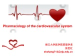 Pharmacology of the cardiovascular system