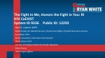 The Fight in Me, Honors the Fight in You: RI HIV CoEXIST System ID 9336Public ID: 12292
