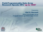 "Field-Programmable Gate Array Research Speeds HPC "" up to 100X """