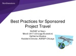 Best Practices for Sponsored Project Travel