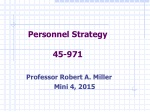 Personnel Strategy 45-971