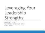 Leveraging Your Leadership Strengths
