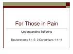 For Those in Pain