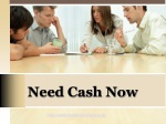 Need Cash Now- Urgent Payday Loans- I Need A Loan Today