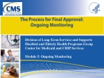 The Process for Final Approval: Ongoing Monitoring