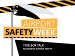T OOLBOX TALK managing Airside Safety