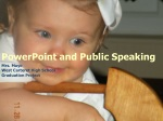PowerPoint and Public Speaking