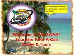 Welcome in PALAWAN Tourister Rent-A-Car Travel Tours