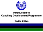 Introduction to Coaching Development Programme