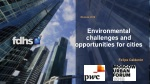 Environmental challenges and opportunities for cities