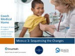 Module 3 : Sequencing the Changes