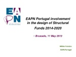 EAPN Portugal involvement in the design of Structural Funds 2014-2020 - Brussels, 11 May 2013