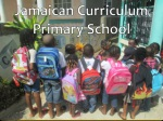 Jamaican Curriculum Primary School