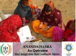 Anandadhara An Overview West Bengal State Rural Livelihoods Mission