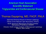 Thomas Dayspring, MD, FACP, FNLA Diplomat American Board of Clinical Lipidology