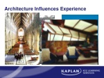 Architecture Influences Experience