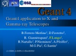 Geant4 application to X and Gamma-ray Telescopes