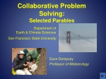 Collaborative Problem Solving: Selected Parables