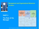 Management and Organisational Behaviour 7th Edition