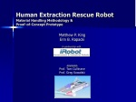 Human Extraction Rescue Robot Material Handling Methodology & Proof-of-Concept Prototype