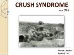 CRUSH SYNDROME ICD 10: T79.5