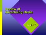 Review of Advertising Media